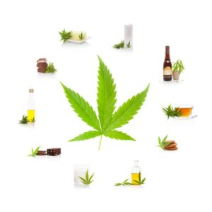 Edible cannabis products.